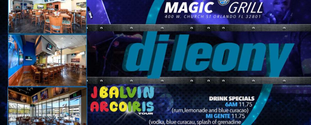 MagicGrill J Balvin Concert djleony