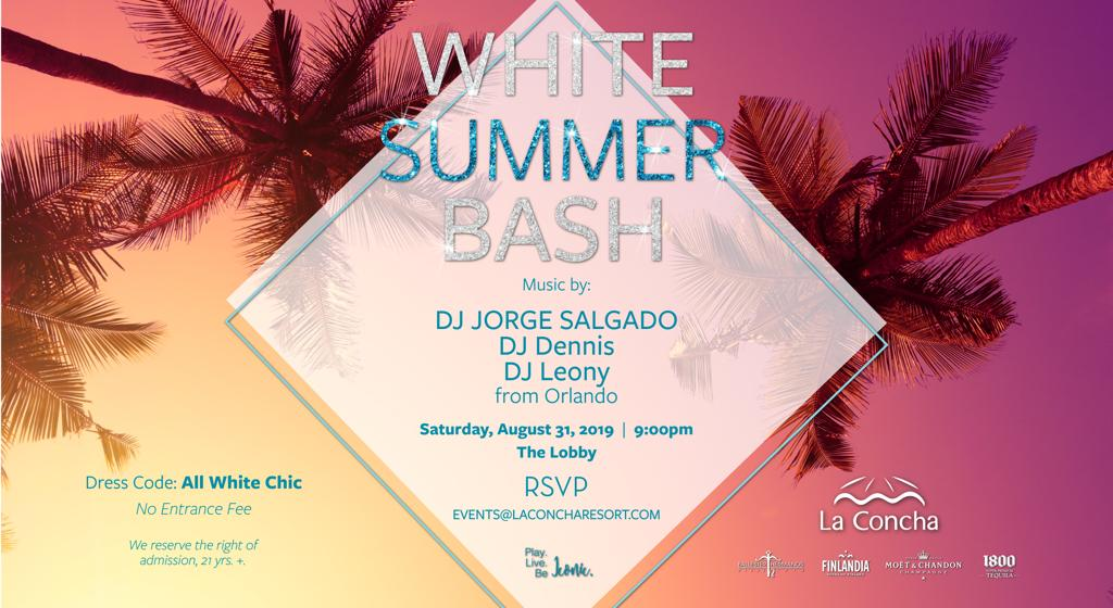 djleony White Summer Bash